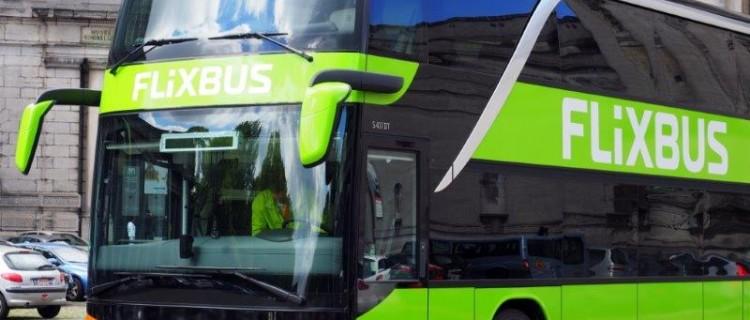 La liaison par bus Limoges – Brive, opérée par Flixbus ne constitue pas une concurrence au TER selon l'Arafer. Image Flixbus