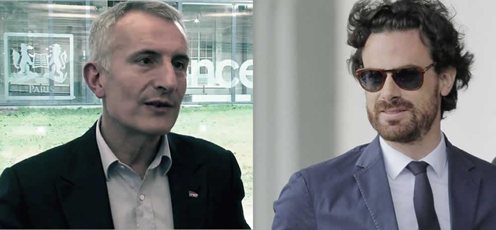 Guillaume Pepy et Mathias Vicherat