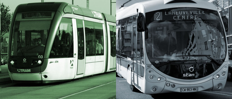 Ecologie : BHNS vs Tramway