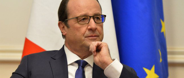 François Hollande, le président normal.