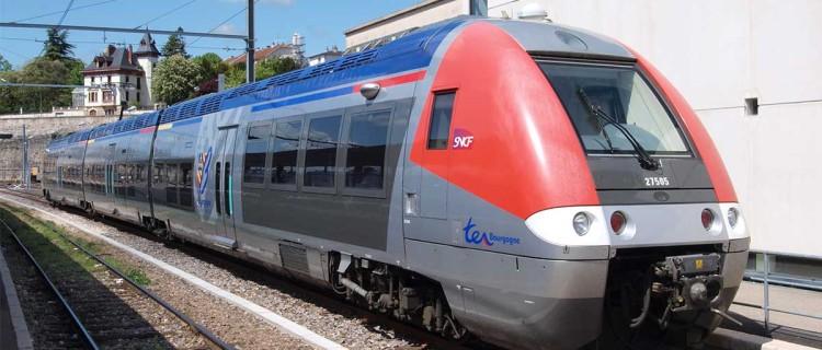 Ter Bourgogne, Bombardier EMU à Dijon