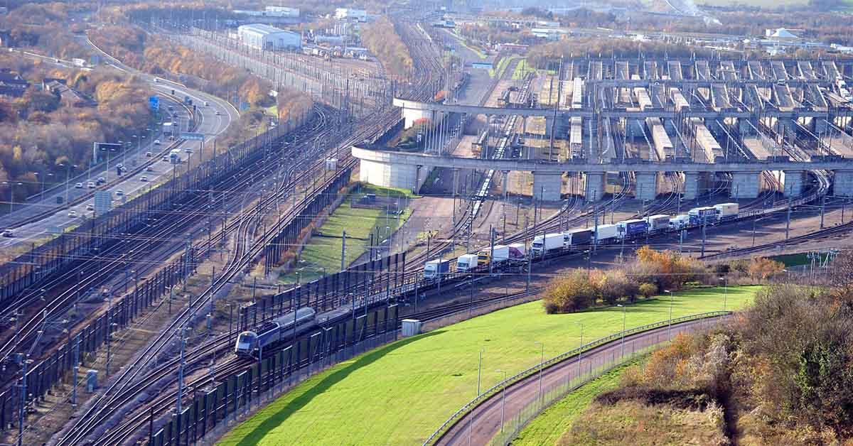 Eurotunnel : Terminal Folkestone