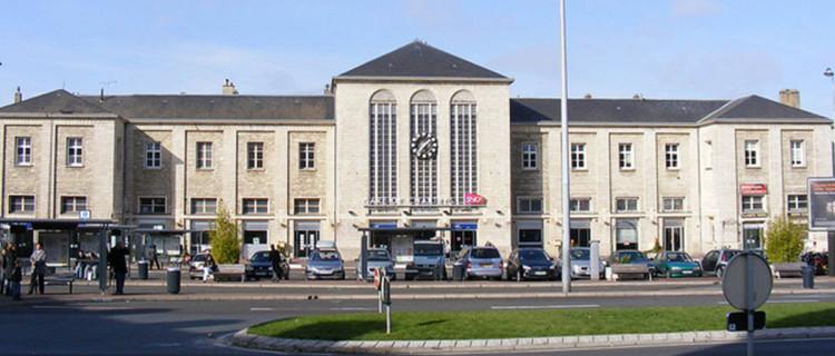 Gare de Chartres.