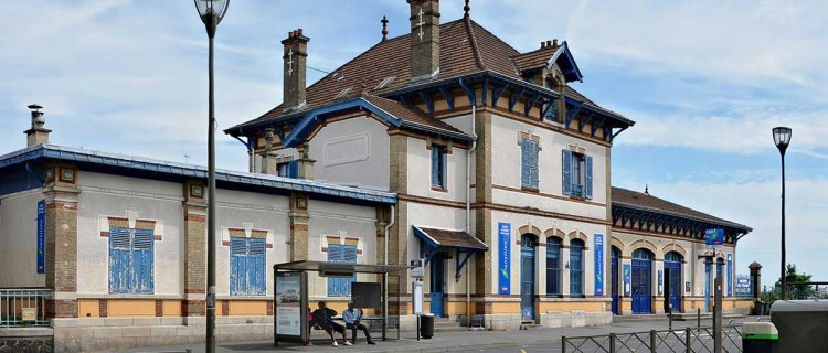 Gare de Rosny-sous-Bois.