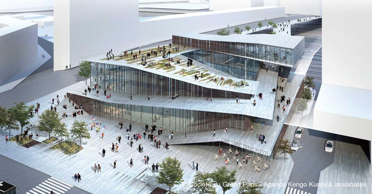 © Société du Grand Paris - Agence Kengo Kuma & associates
