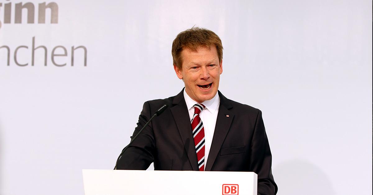 Richard Lutz, Directeur de la Deutsche Bahn.
