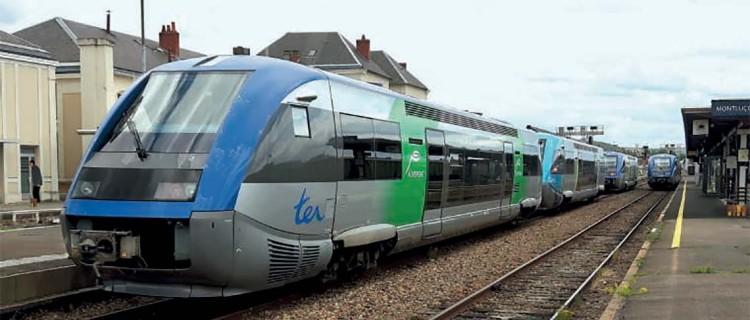 d'un autorail X 73500 De Clermont-Ferrand à Montluçon