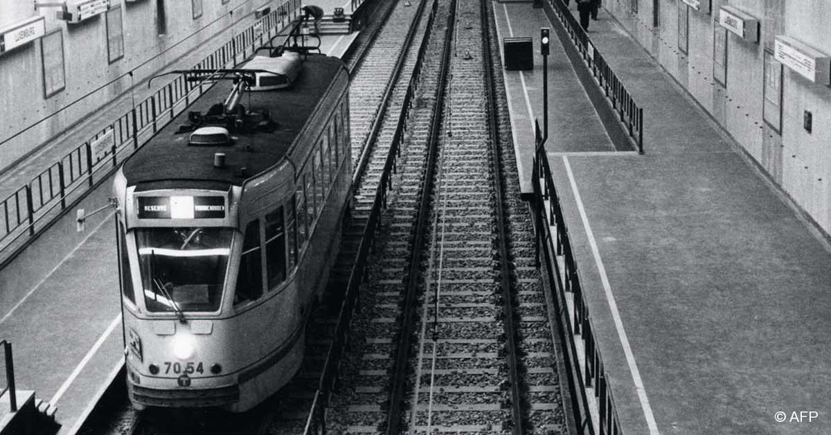 Pr m tro m tro les mutations du r seau bruxellois - Station metro jardin du luxembourg ...
