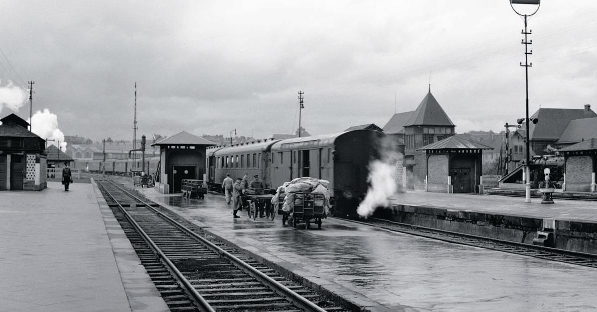 Les Trains des voyageurs