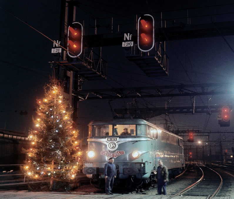 Train Mistral Noel 1960