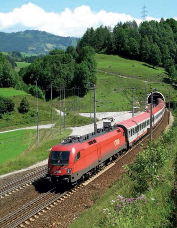 IC vers Villach et Graz