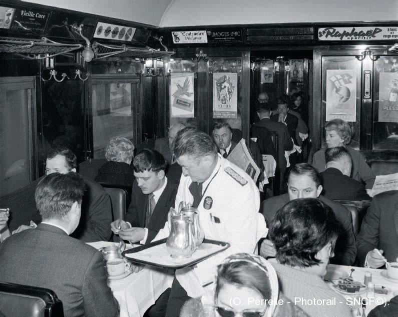 Wagon restaurant 1960