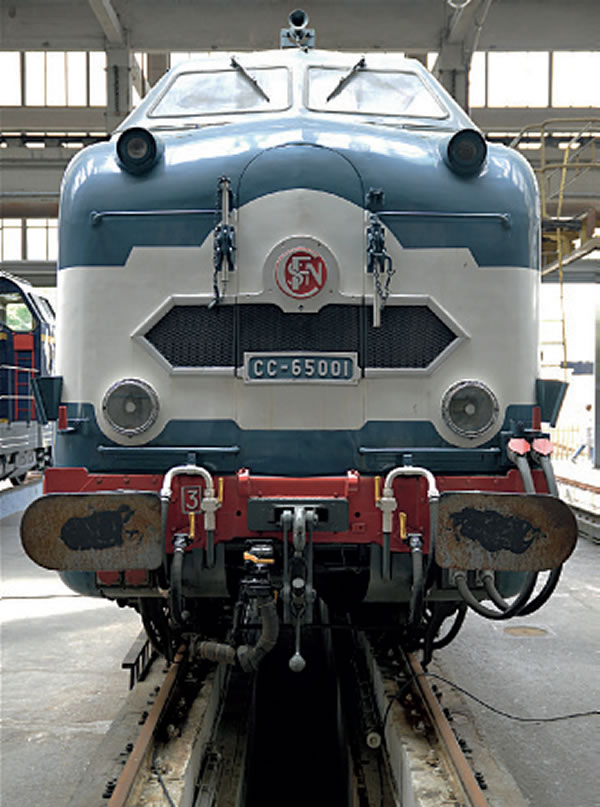 CC 65001, Grand Train La Chapelle