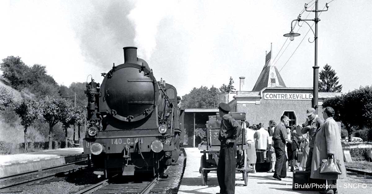 Locomotive Vapeur 1950