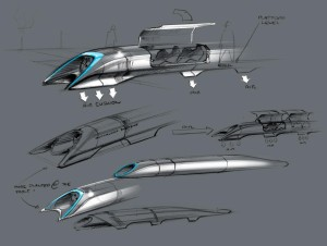 (c) teslamotors projet hyperloop