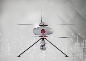 Eurotunnel utilise des drones pour surveiller son site de Cocquelles ©ECA group
