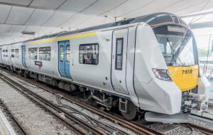 Symbole parmi d'autres de la modernisation en cours du rail britannique, les rames Siemens Class 700 pour Thameslink entraient en service au moment où tombaient les résultats du référendum. © SIEMENS