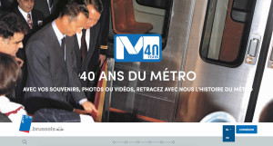 timeline metro stib