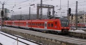 Coradia Continental 440 010 d'Alstom en gare de  Münich.