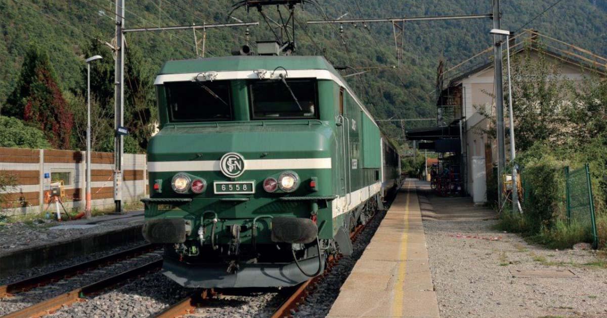 L'APMFS a tracté les Trains du Souvenir avec sa fameuse CC 6558 (Maurienne).