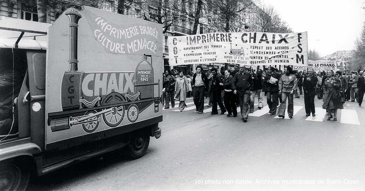 (c) photo non datée, Archives municipales de Saint-Ouen