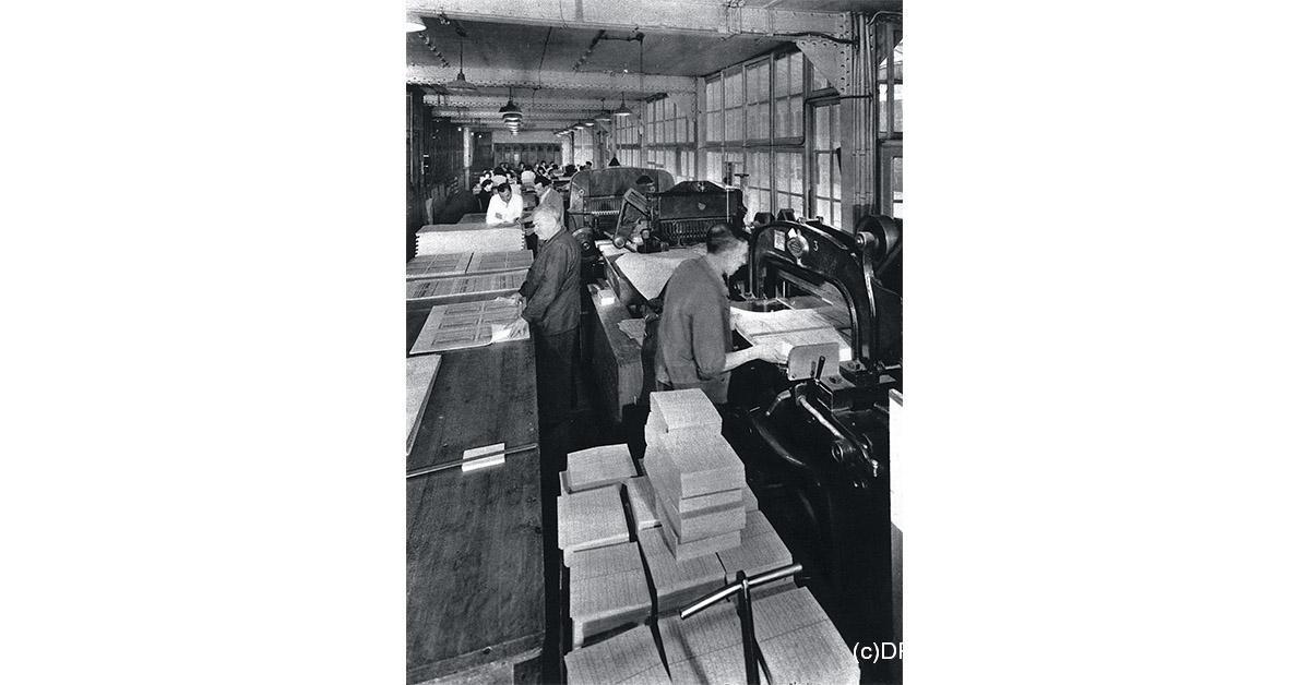 (c)DR/Le Centenaire de l'Imprimerie Chaix