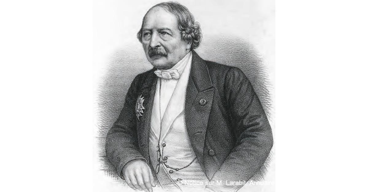 © Notice sur M. Larabit, Annuaire administratif de l'Yonne, 1877