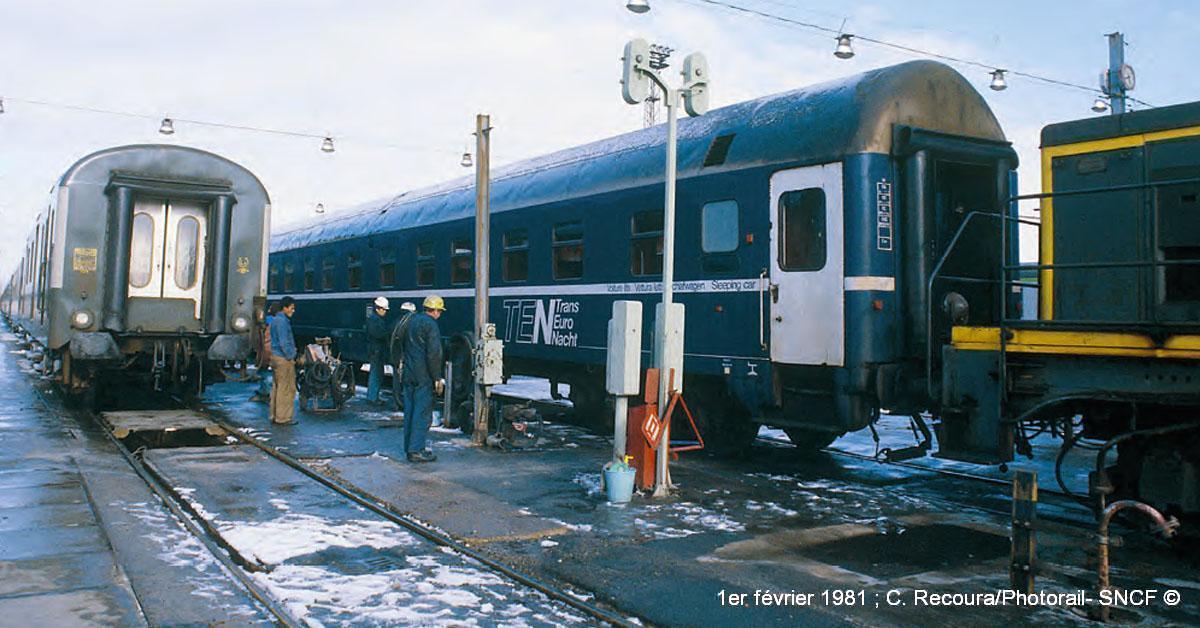 1er février 1981 ; C. Recoura/Photorail- SNCF ©