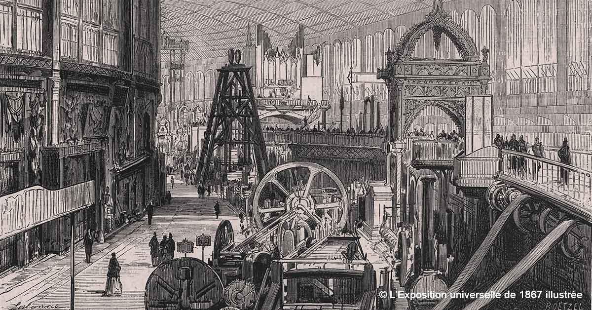© L'Exposition universelle de 1867 illustrée