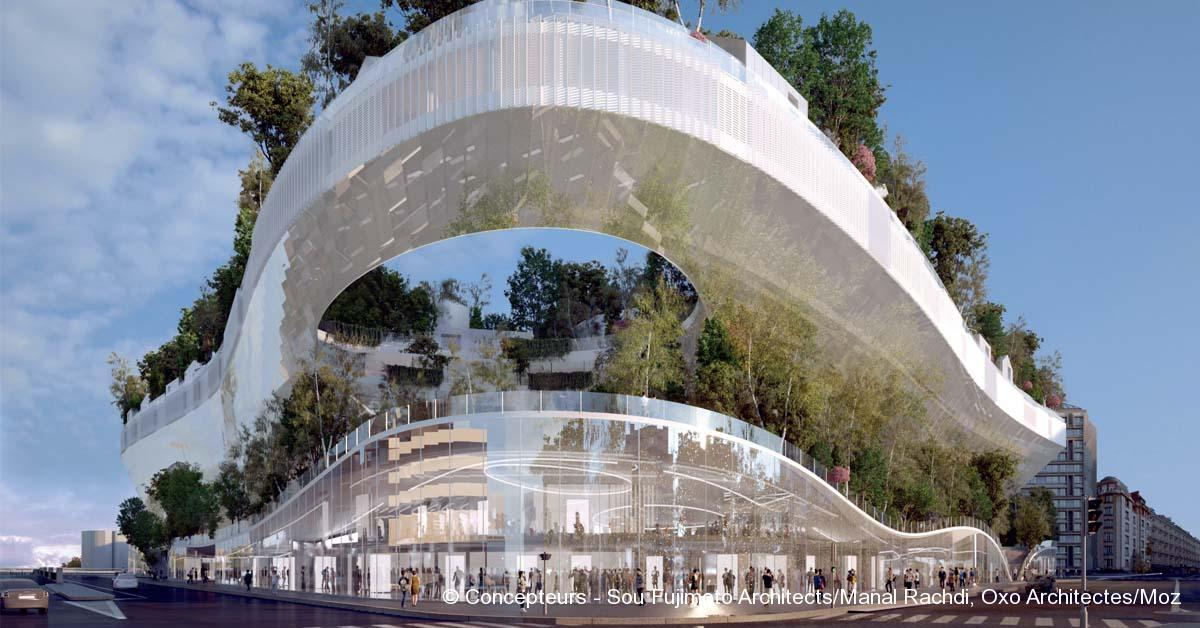 © Concepteurs - Sou Fujimoto Architects/Manal Rachdi, Oxo Architectes/Moz
