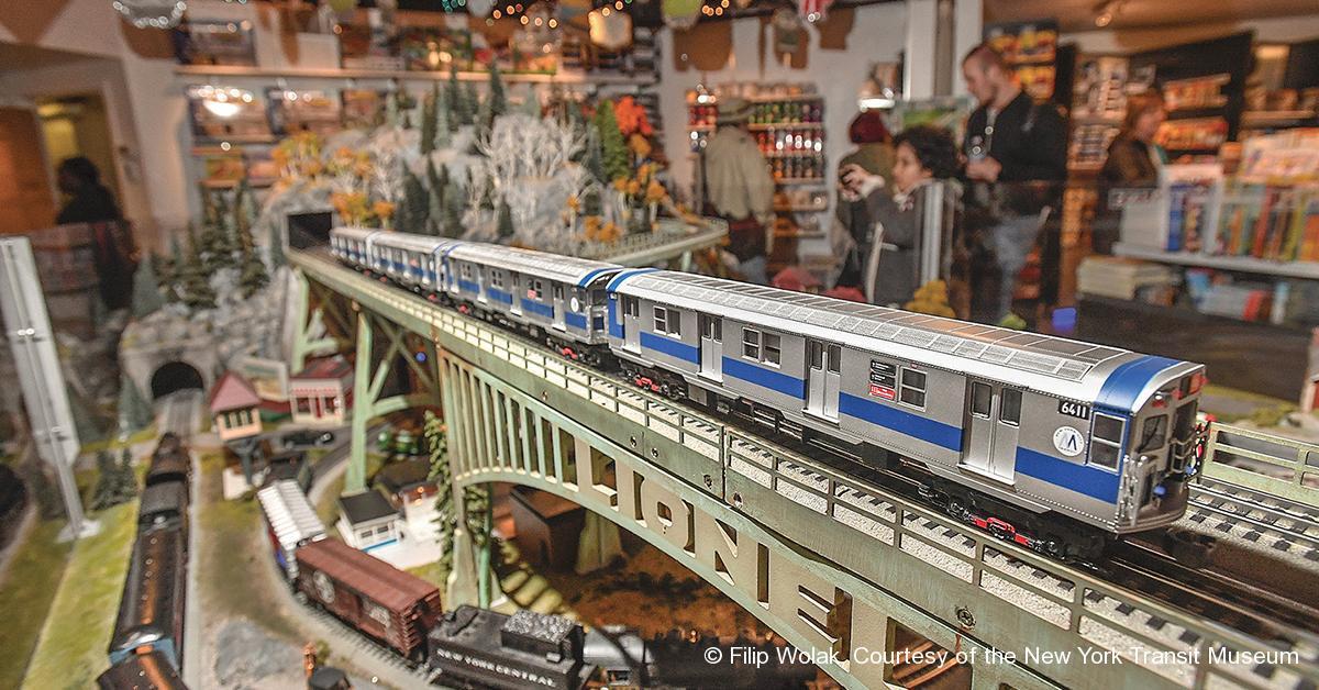 © Filip Wolak, Courtesy of the New York Transit Museum