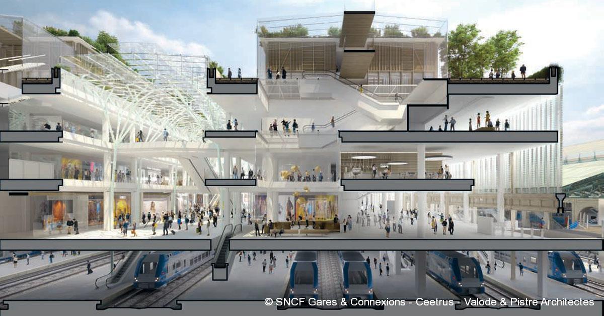 © SNCF Gares & Connexions - Ceetrus - Valode & Pistre Architectes