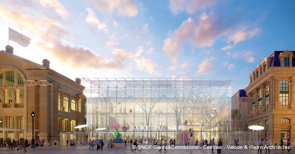 © SNCF Gares&Connexions - Ceetrus - Valode & Pistre Architectes