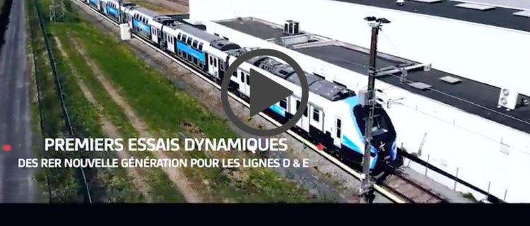 Premiers essais dynamiques du RER NG