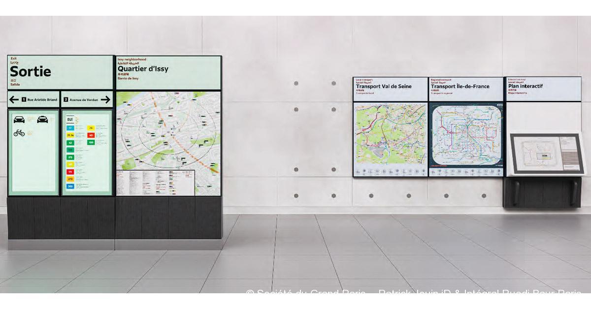 © Société du Grand Paris – Patrick Jouin iD & Intégral Ruedi Baur Paris