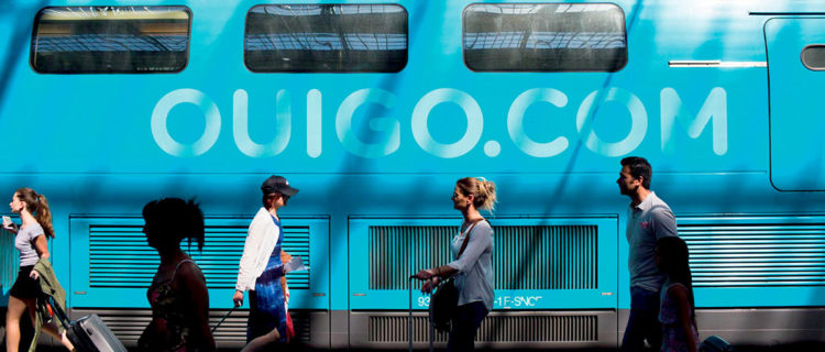 Le TGV à bas coûts Ouigo. © SNCF - Ouigo - Emeric Fohlen