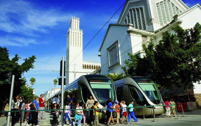 Rabat Sale Un Tramway Pour Amenager La Ville Lettre Du Cheminot