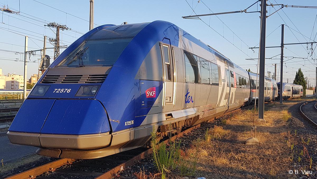 Eurotunnel La Locomotive Vectron De Siemens Sous Manche Rail 72500 Fin Des X Toulousains