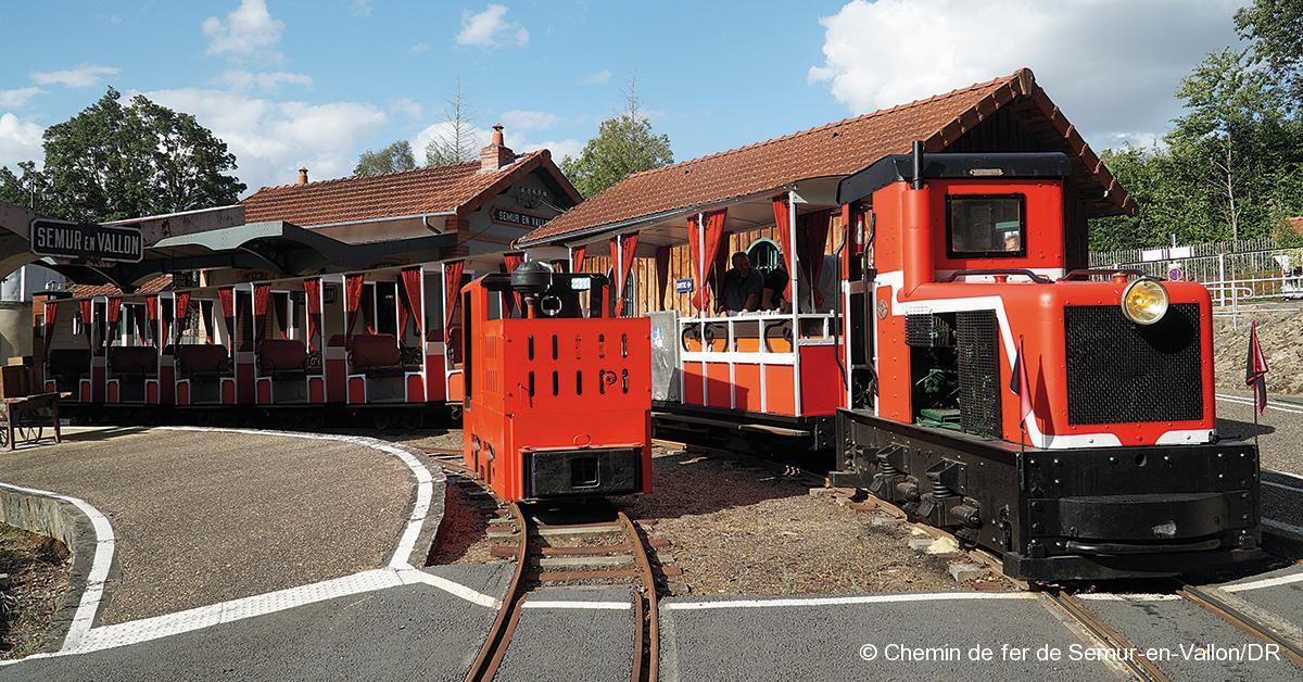 © Chemin de fer de Semur-en-Vallon/DR