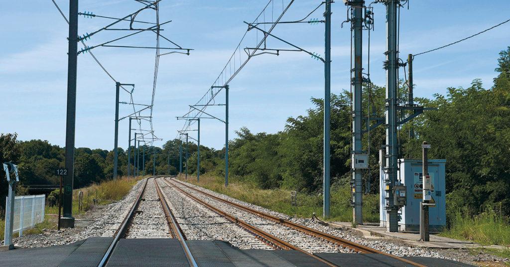 Fin de la régénération caténaires sur Montréjeau - Tarbes - Rail Passion