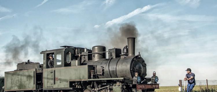 La 040 KDL franco-belge du P'tit train de la Haute-Somme en manoeuvre à Dompierre. © Daniel Maas