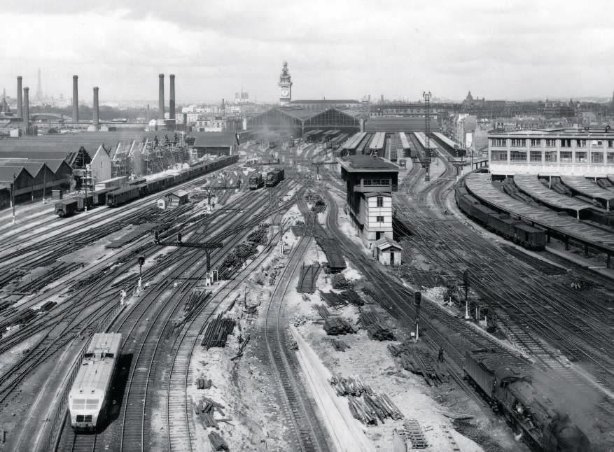 dépôt de Villeneuve- Saint-Georges 1950