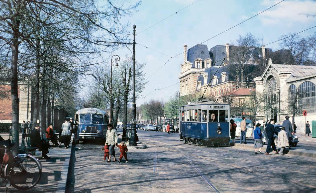 Tramways France 1950