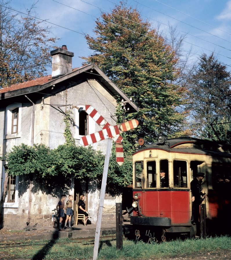 le train de Vaugneray