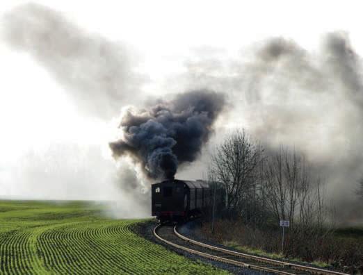 Loco vapeur panache Train « Père Noël Express » du CFTV