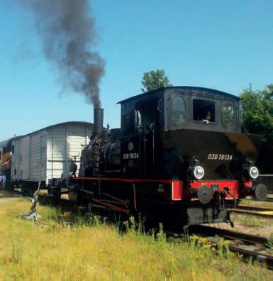Locomotive à vapeur 030TB 134 du Chemin de fer touristique du Rhin (CFTR)