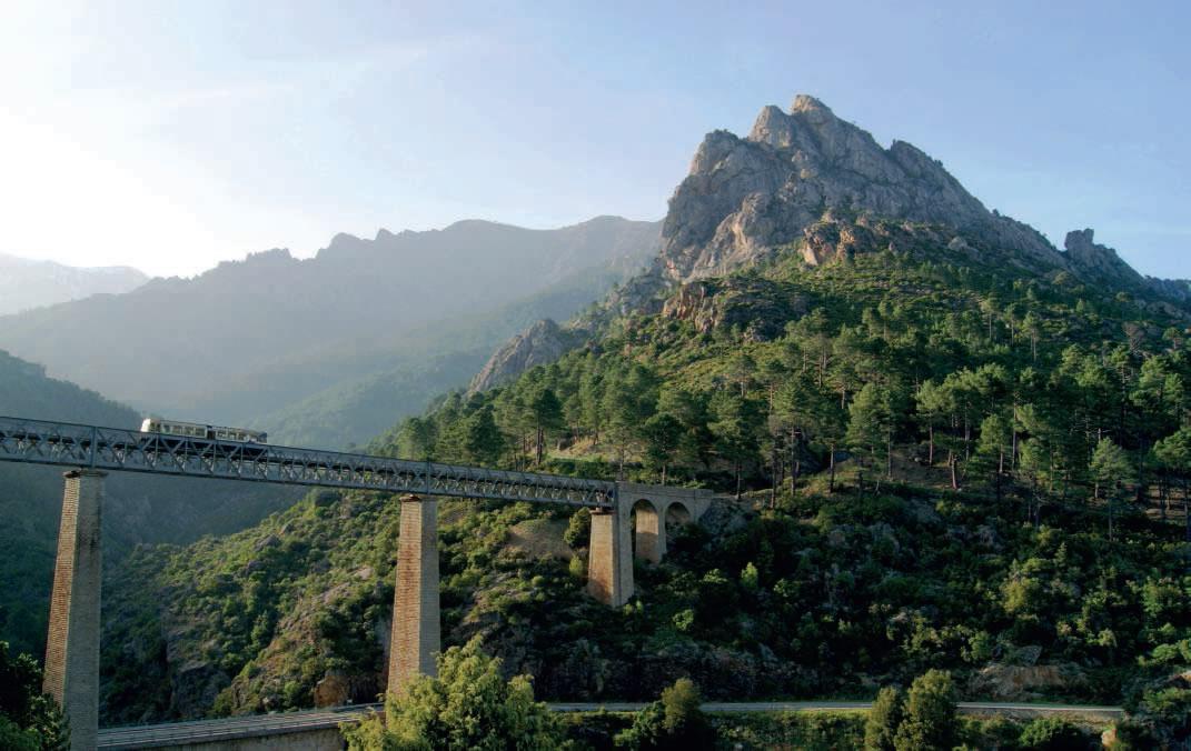 Autorail Soulé sur le pont duVecchio