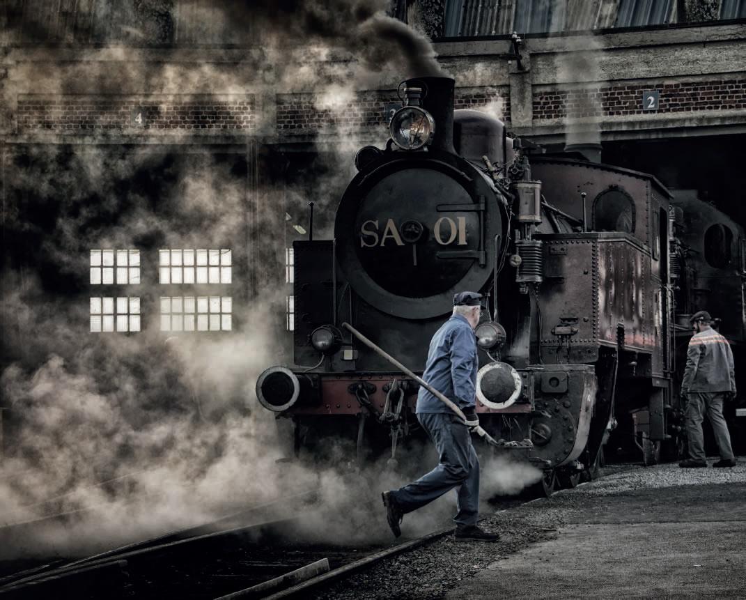 Chemin de fer à vapeur CFV3V