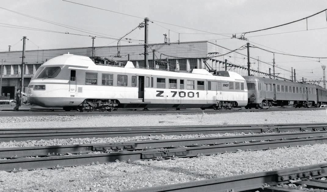 automotrice Z 7001  Zébulon