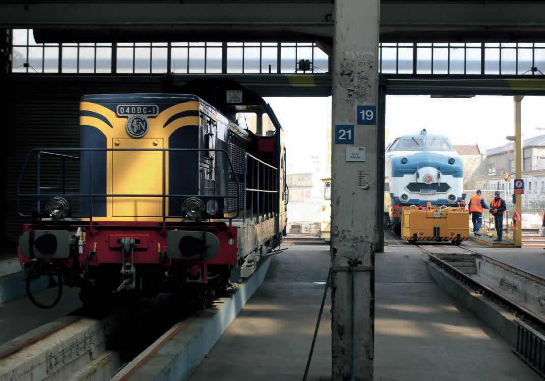 locomotive diesel 040 DG